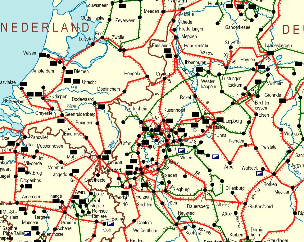 germanyelectricitygridlines